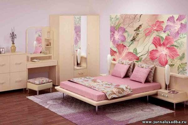 то наклеенные вами в спальне фотообои ...: www.jurnalusadba.ru/publ/interer/sam_sebe_dizajner/fotooboi_dlja...