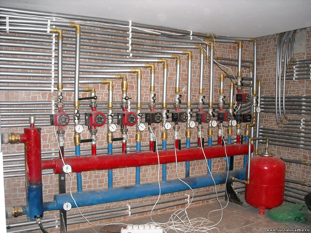 Термостат для теплого пола водяного электронный